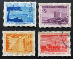 1955 Selection Of Used/hinged Stamps From Turkey-Monetary Fund No Z-253 - Unclassified