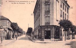 93 - Seine Saint Denis - NEUILLY PLAISANCE - La Rue De Plaisance - Epicerie Mercerie - Neuilly Plaisance