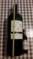 BOUTEILLE DE  VIN ROUGE 11,5 ° VIDE 12 LITRES BORDEAUX GINESTET 1988. RED WINE BORDEAUX. - Wine