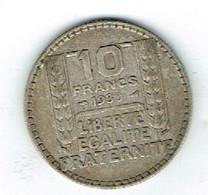 France 10  Fr Argent 1930 - Altri