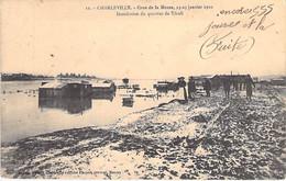 CATASTROPHE - 08 - CHARLEVILLE Crue De La Meuse 23-25 Janvier 1910 - Inondation Du Quartier De Tivoli - CPA - Ardennes - Overstromingen