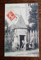 Carte Postale Ancienne - Saint-Marceau - La Fontaine De La Statue De St Julien - Other Municipalities