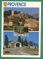 13 Provence ( Cigale, Multivues, Cigales, Blason, Chapelle ) Oblitération Saint Chamas 1999 - Ohne Zuordnung