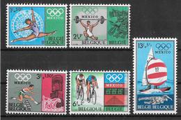 COB 1456/1457 ** - Jeux Olympiques De Mexico - Ongebruikt