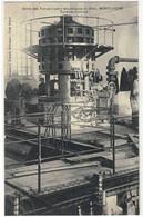 CPA  MONTLUCON   Usine Des Forces Hydro - Electrique , Turbine Motrice - Montlucon