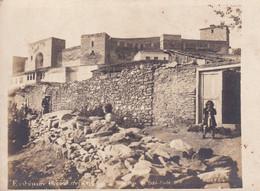 Carte Photo De La Forteresse De Yeddi Coulé - Azerbaïjan