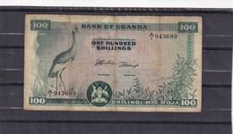 Uganda 100 Shillings  P 4  Rare Without Bank Of Uganda - Other - Africa