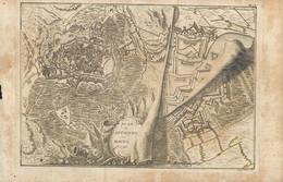 Mons - Plan Des Attaques En 1740, Planche XIII + Journal Du Siège De Mons, 1746 - Historical Documents