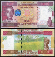 Guinea - 10000 Francs 2012 UNC P. 46 Lemberg-Zp - Guinea
