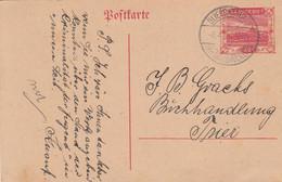 Deutsches Reich Saargebiet Postkarte P9A 1920-23 - Storia Postale