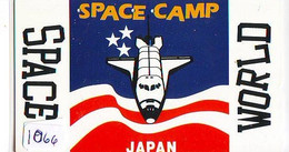 TELECARTE JAPAN *  ESPACE (1066) * GLOBE * SATELLITE * TERRESTRE * MAPPEMONDE * Telefonkarte Phonecard JAPAN * - Spazio