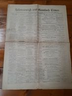 1903 - SCOTLAND - HELENSBURGH AND GARELOCH TIMES - GIORNALE - NEWSPAPER - Altri