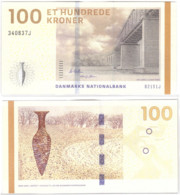 Denmark - 100 Kroner 2015 UNC Pick 66d(2) Callesen And Sørensen Lemberg-Zp - Denmark