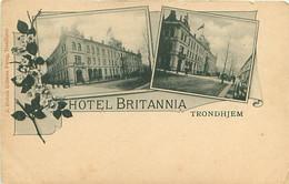 CPA - NORVEGE - HOTEL BRITANNIA - TRONDHJEM - Noruega