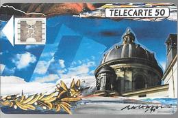 CARTE-PUBLIC-1989-50U-F 115-SC4.Ob-Trou6-V°N°5Pe18290-2 LA COUPOLE ACADEMIE-Utilisé-TB E- - 1989