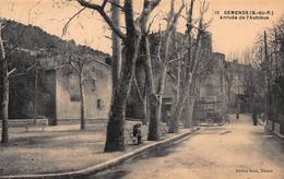 CPA GEMENOS (B-du-R) - Arrivée De L'Autobus - Andere Gemeenten