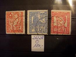 SBZ Mi.-Nr. 26/28 Gestempelt - Helft Den Kindern - Kinderhilfe - Michel 180,00 EUR - Soviet Zone