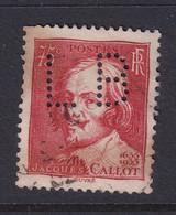 Perforé/perfin/lochung France 1935 No 306 LB L. Binoche Et Cie Atelier Du Kremlin - Perforés