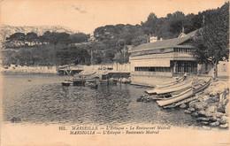CPA Marseille - L'Estaque - Le Restaurant Mistral - L'Estaque