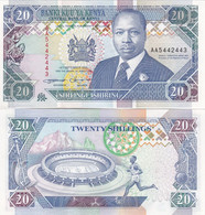 Kenya - 20 Shillings 1993 UNC P. 31a Lemberg-Zp - Kenya
