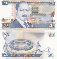 Kenya - 20 Shillings 1995 AUNC / UNC P. 32 Lemberg-Zp - Kenya