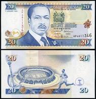 Kenya - 20 Shillings 1996 UNC P. 35a2 Lemberg-Zp - Kenya