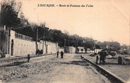 CPA L'Estaque - Route De Fontaine Des Tuiles - L'Estaque