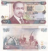 Kenya - 50 Shillings 1996 UNC P. 36a1 Lemberg-Zp - Kenya
