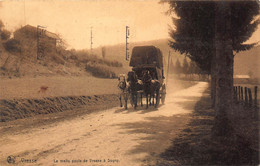 CPA VRESSE - La Malle Poste De Vresse à Sugny - Vresse-sur-Semois