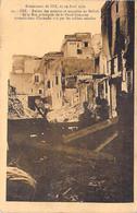 EVENEMENT MAROC Morocco - FEZ Incendie 17-19 Avril 1912 / Ruines Des Maisons De La Rue Principale De La Poste - CPA - Rampen