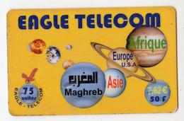 FRANCE PREPAYEE EAGLE TELECOM 7,5€ Date 2003 - Unclassified