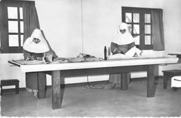 CENTRAFRIQUE - BOUAR - Monastère Des Clarisses ( Travaux De Couture ) - CPSM Dentelée N/B - Black Africa Afrique Noire - Central African Republic