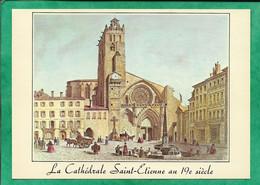 Le Vieux Toulouse (31) Cathédrale Saint-Etienne Au 19e S. Collection Du Musée Du Vieux Toulouse 2scans - Toulouse