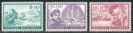 D - [SYL-0127]TB//-N° 1391/93, Expedition Antartque, Bateau, Traineau Avec Chiens, Ballon Sonde, **/mnh, PRIX DE LA POST - Unused Stamps