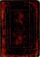 Almanach De Poche Publicitaire 1933 Salon De Coiffure, Parfumerie A L'IRIS, 46 Rue De Marne à Châlons-sur-Marne, 4 Scans - Small : 1921-40