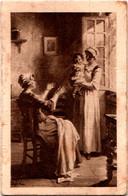 Calendrier Publicitaire 1934 BISCUITERIE-CONFISERIE G. ADNET 4 Rue Carnot à Châlons-sur-Marne 3 Scans - Small : 1921-40
