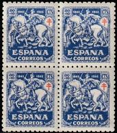 1945. ** Edifil: 996(4). PRO TUBERCULOSOS. Valor Clave - 1931-50 Neufs