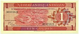 Netherlands Antilles - 1 Gulden - 08.09.1970 - Pick 20 - Unc. - Prefix D - Other - America