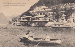 SWITZERLAND-SCHWEIZ-SUISSE-SVIZZERA-CAPRINO-LUGANO-ANCIEN RESTAURANT CAPRINO-CARTOLINA NON VIAGGIATA 1920-1925 - TI Ticino
