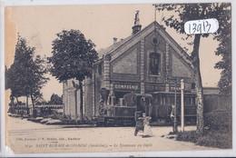 SAINT-ROMAIN-DE-COLBOSC- LE TRAMWAY AU DEPOT-  ROGNEE BAS GAUCHE - Saint Romain De Colbosc