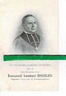 Lambert Engelen ( Kanunnik ) O Tongerloo 1880 + Leuven 1948 - Images Religieuses