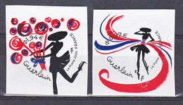 France 1813/1814 Coeurs De Guerlain 2020 Auto Adhésifs  Neuf ** TB MNH Sin Charnela - KlebeBriefmarken