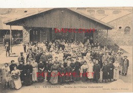43 // LA SEAUVE, Sortie De L'usine Colcombet    EDIT GIROUD  752 - Altri Comuni