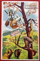 Cp Fantaisie Humour Pin-up CHASSE Illustrateur L. CARRIERE - Carrière, Louis
