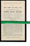 Polidoor Grootaert Priester Te Sleidinge-viaene -destelbergen O Paricke 1842 + Destelbergen 1901 - Images Religieuses