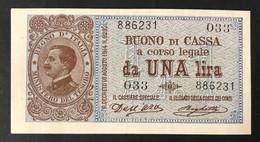 Vitt. Em. IIII° 1 Lira 02 09 1914 Spl  LOTTO 2341 - Regno D'Italia – 1 Lira