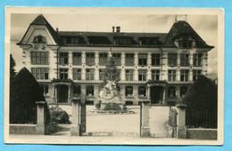 Sursee - Schulhaus 1931, Gestempelt Feldpost Verpfl. Abt. 4 - LU Lucerne