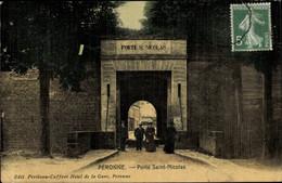 CPA Péronne Somme, Porte Saint Nicolas - Otros Municipios