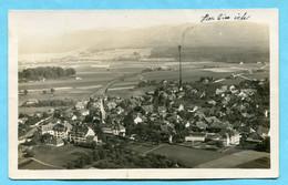 1925 Flieger - Postkarte Münchenbuchsee, 200m - BE Berne