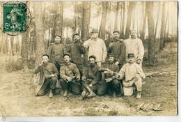 56 - Vannes : CP-Photo - Camp De Meucon - 1909 - Vannes